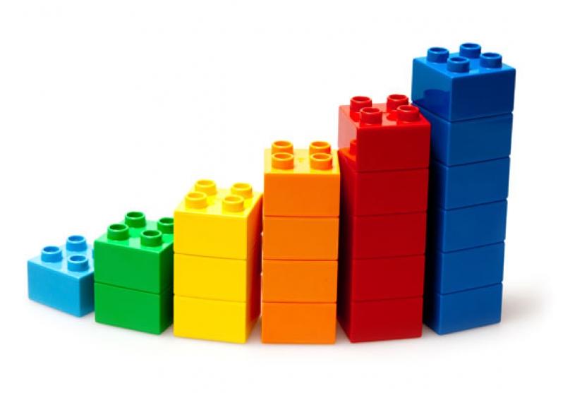 Fichas de Lego para dinámicas de grupo